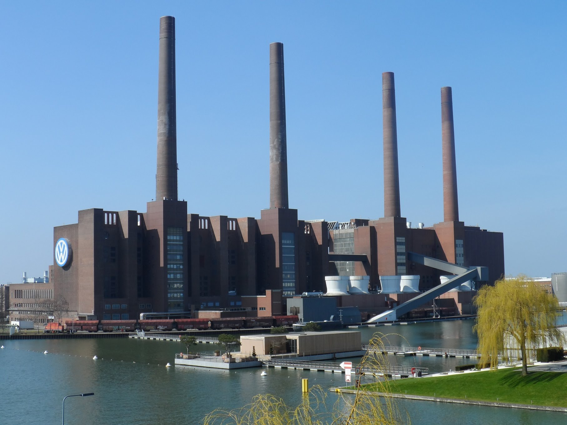 The Iconic VW Wolfsburg Factory Present Day